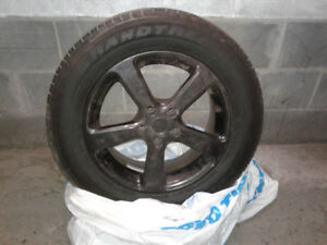 Dunlop Grandtrek 225/65/17R with rims 5X114.3