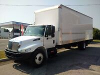 2009 International 4300 G License Automatic 26' Straight Truck