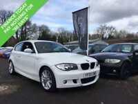 2009 09 BMW 1 SERIES 118I 2.0 M SPORT 3DR AUTO 141 BHP