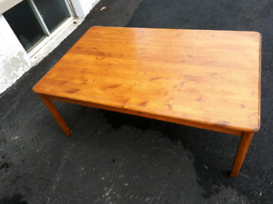 Wooden coffee table - $75 obo