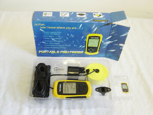 TL Portable Sonar Fish Finder 100m