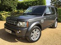 LAND ROVER DISCOVERY 4 3.0 SDV6 AUTO ( 255bhp ) VAN , SAT NAV , LEATHER , CLEAN