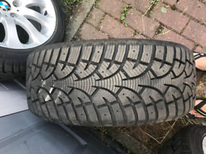 225/45/17 BMW Winter tires + Original Mags !