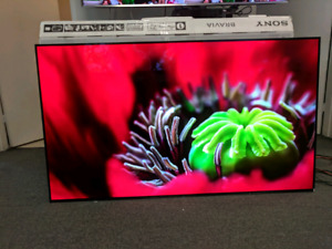 """Sony 65"""" 4K UHD HDR OLED Android Smart TV (XBR65A1E)....This i"""