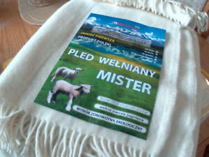 Brand NEW Baby sheep wool (100%   organic) throw over   blanket