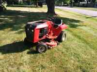 Great b165 wheel horse riding mower