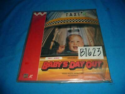 Joe Mantegna / Lara Flynn Boyle / Matthew Glave BABY'S DAY OUT Laser Disc