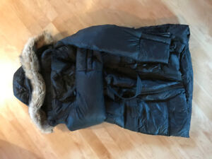 """Size Small Winter Down-filled """"M-Coat"""" Maternity / Baby wearing"""