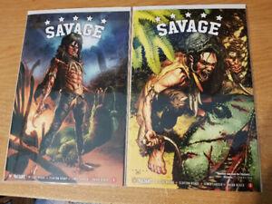 Savage #1-4 Complete Series Valiant