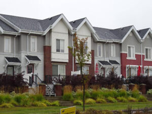 3 bdrm 1240sqft Townhouse with double garage for rent
