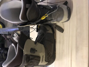 Size 10 Burton Snowboard boots — EXCELLENT condition