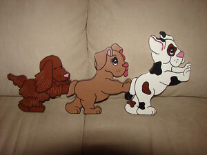 TOY ROOM WALL HANGING OF DOGS