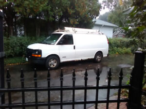 Looking to my trade 2004 chev 2500 express van