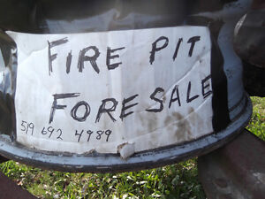 ONLY 2 LEFT 28 in tractor rim and truck rim fire pit Sarnia Sarnia Area image 2