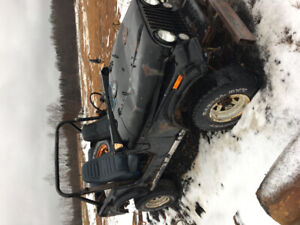 2 Jeep CJs for parts