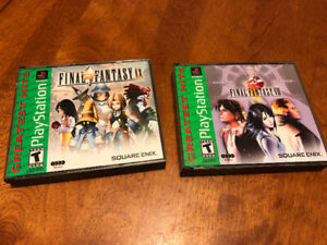 Final Fantasy 8 and 9