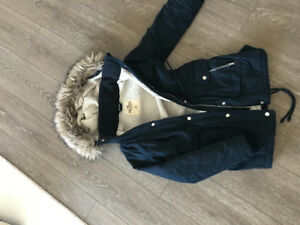 Woman's winter parka