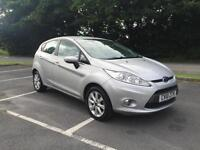 Ford Fiesta 1.4TDCi 2010 Zetec finance available from £25 per week