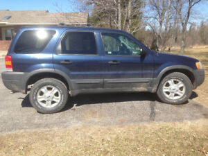 Parting out 2004 Ford Escape