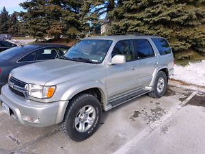 2002 Toyota 4Runner ltd edition. Collectors dream