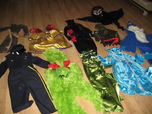 11 costumes sizes 4-5-6 child