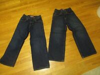 2 Pairs of Old Navy Boys Jeans Size 7