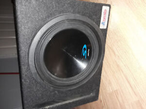 """10"""" Apline Sub w/ Excelon Kenwood 1000w Power Amp (Brand New)"""