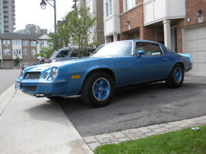 1980 Chevrolet Camaro Berlinetta 4 Spd.
