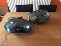 MK4 golf black headlights