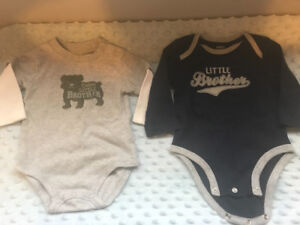 Carters 6m Little Brother Shirts