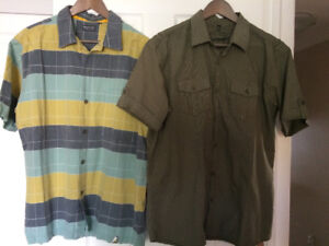 Men office shirts, brand new without tag, or worn once or twice