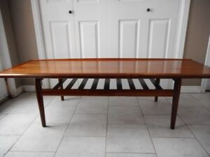 MCM Greta Jalk Rosewood Coffee Table