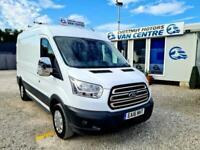 Ford Transit 290 L2H2 MWB FWD Crew Van 6 Seats 2.2 Diesel 56K One Owner 2016