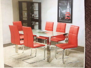 Brand New modern Dining set $299(see pictur3)up -free delivery