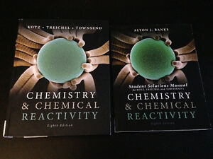 Chemistry & Chemical Reactivity + Student Solution Manual 8th Ed