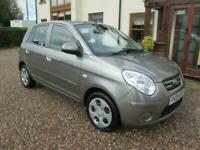 Kia Picanto 1.1 AUTOMATIC. 5 DR. 2008. LOW miles. 1 owner. MOT September 2021