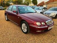 Rover 75 2.0 V6 auto Club SE + Long MOT 19/02/2019 + Low mileage 78k Miles
