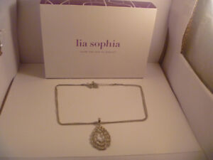 Lia Sophia Necklace With Box