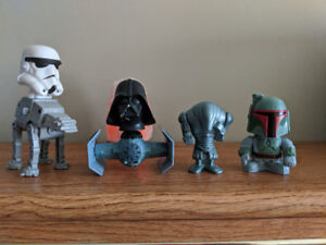 Lot of Star Wars figures (Mc Donald's and Burger King)