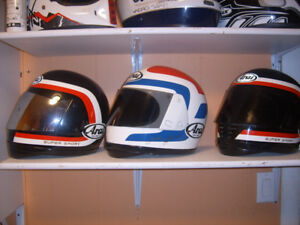 looking for any old arai  helmets any size any condition .