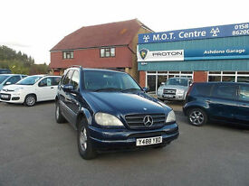 2001 Mercedes-Benz ML 270 EXCELLENT CONDITION FOR AGE LOW MILES