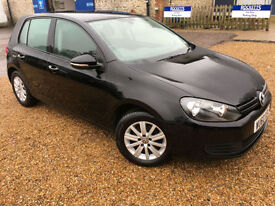 2010 '60' Volkswagen Golf 1.6 TDi S. VW Diesel Manual. 5 Door. £30 TAX. Px Swap