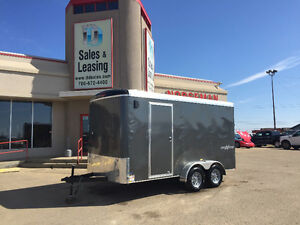 2016 TNT 7x14ft Side X Side Enclosed Trailer $7999
