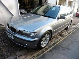 BMW 3 Series Touring sunroof full service history PETROL MANUAL 2004/54