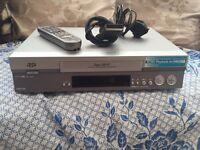 JVC VCR player