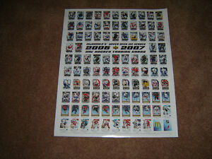 McDonalds Hockey posters for 2006-2007