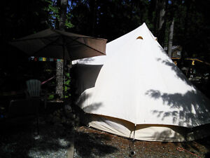 Bell Tent - Canvas -  BIG  TENT Campbell River Comox Valley Area image 2