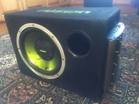 Fusion sub and mutant amp all in one! CHEAP!