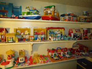 Collection entiere de jouets vintage Fisher Price