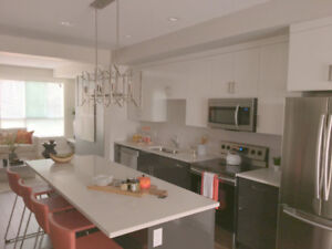 Brand New 1750 Sqft Townhouse 3 Bed/3.5 Bath +Fully A/C for Rent